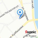 Магазин радио и электротоваров на карте Санкт-Петербурга