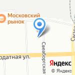 Балтийский центр безопасности труда на карте Санкт-Петербурга