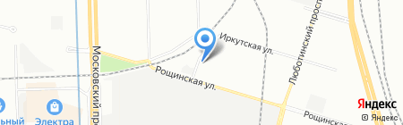 Азия Материал Хэндлинг на карте Санкт-Петербурга