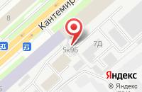 Схема проезда до компании Комбат в Санкт-Петербурге