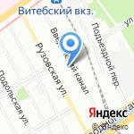 Навеус на карте Санкт-Петербурга