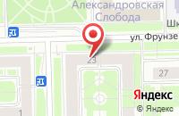 Схема проезда до компании Далекс в Санкт-Петербурге