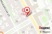Схема проезда до компании Фарос Плюс в Санкт-Петербурге