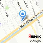 Санкт-Петербургский педагогический колледж №8 на карте Санкт-Петербурга