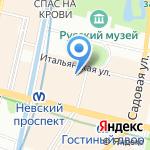 Балтикумс Траст на карте Санкт-Петербурга