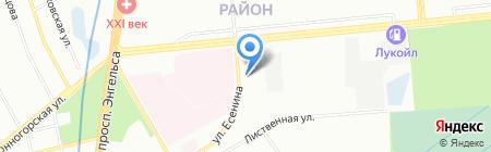 Дюссо на карте Санкт-Петербурга