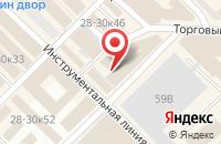 Схема проезда до компании Белый Шар в Санкт-Петербурге