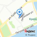 Пожарная часть №1 на карте Санкт-Петербурга
