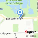 Виннер на карте Санкт-Петербурга