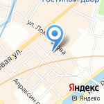 Прагматика на карте Санкт-Петербурга