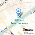 Gosti на карте Санкт-Петербурга
