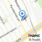 Трест Севзапкурортстрой на карте Санкт-Петербурга