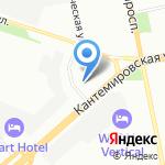 Сеть-ЕВЛ на карте Санкт-Петербурга