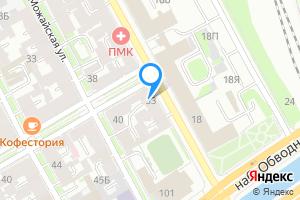 Сдается студия в Санкт-Петербурге Рузовская ул., 33