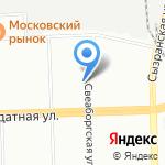 Прок Плюс на карте Санкт-Петербурга