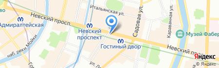Эклектика-Гид на карте Санкт-Петербурга