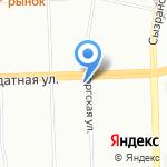 Сплав на карте Санкт-Петербурга