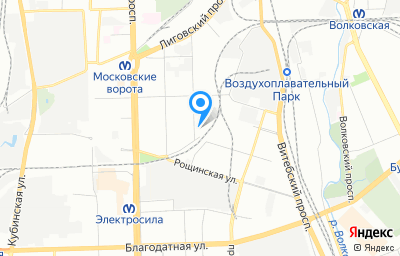 Местоположение на карте пункта техосмотра по адресу г Санкт-Петербург, ул Цветочная, д 16