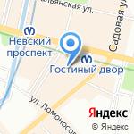 Музей истории купечества Санкт-Петербурга и России на карте Санкт-Петербурга