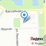 Розмысел на карте Санкт-Петербурга