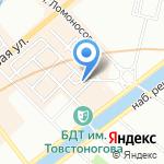 Кожгалантерея Мидина на карте Санкт-Петербурга