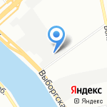Городской интерьер на карте Санкт-Петербурга