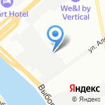 ЦЕНТР ИНДИВИДУАЛЬНОЙ ЗАЩИТЫ на карте Санкт-Петербурга