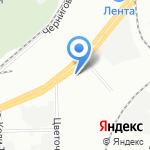 Превент на карте Санкт-Петербурга