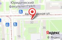 Схема проезда до компании Стереополия в Санкт-Петербурге
