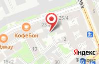Схема проезда до компании М163 в Санкт-Петербурге