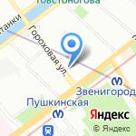 Сто красок на карте Санкт-Петербурга