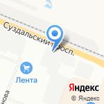 ЭНЕРГОСТРОЙ на карте Санкт-Петербурга