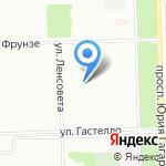 Центр повышения квалификации специалистов образования Московского района на карте Санкт-Петербурга
