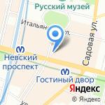 Нордекс на карте Санкт-Петербурга