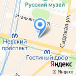 Antonio Riva на карте Санкт-Петербурга