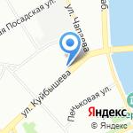 Магазин стройхозтоваров на карте Санкт-Петербурга