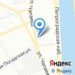 Fabrick Project на карте Санкт-Петербурга