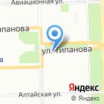 Компания Балттех на карте Санкт-Петербурга