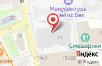 Схема проезда до компании Спутник в Санкт-Петербурге