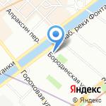 Шерлок на карте Санкт-Петербурга