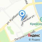 Испытательная Пожарная Лаборатория на карте Санкт-Петербурга