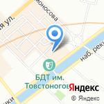 Оптимум на карте Санкт-Петербурга