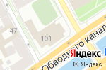 Схема проезда до компании Восток-Сервис в Санкт-Петербурге