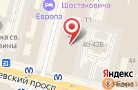 Схема проезда до компании Людовик в Санкт-Петербурге