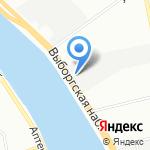 АлексинСкай на карте Санкт-Петербурга