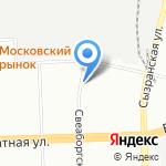 Селект на карте Санкт-Петербурга