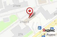 Схема проезда до компании Спецполиграф в Санкт-Петербурге
