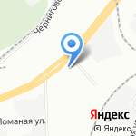 ДВП-Сервис на карте Санкт-Петербурга