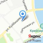 Петрохим-охрана на карте Санкт-Петербурга