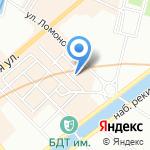 Майка на карте Санкт-Петербурга
